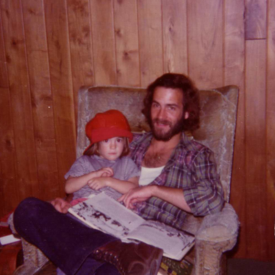 Jason and Mark, late 1974 or early 1975, Eugene.